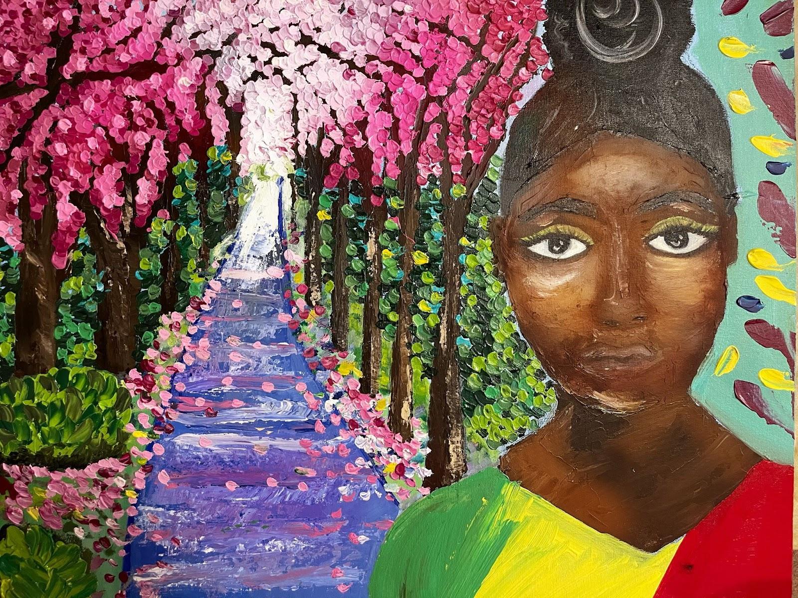 Teshaba Barlow - self portrait
